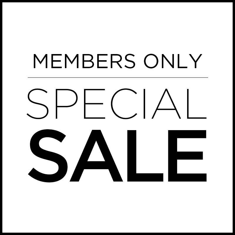 MEMBERS ONLY SALE